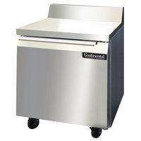 Continental Refrigerator SW32-BS 32 inch Worktop Refrigerator with Backsplash
