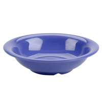 Purple 18 oz. Melamine Soup Bowl - 12/Case