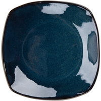 Tuxton GAN-503 TuxTrendz Artisan Night Sky 21 oz. 10 1/2 inch Coupe Square China Pasta Plate - 12/Case