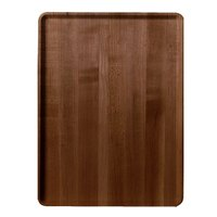 Burma Teak Cambro 1220D308 12 inch x 20 inch Wood-Look Dietary Tray 12 / Case
