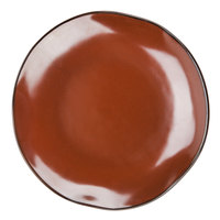 Tuxton GAR-006 TuxTrendz Artisan Red Rock 10 1/4 inch China Plate - 12/Case