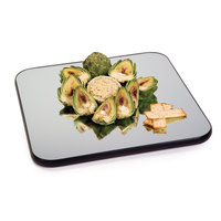 Geneva 277 22 inch Square Rimless Mirror Food Display Tray