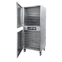Excalibur COM2 Stainless Steel Two Zone Commercial Dehydrator - 4800W