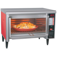 Hatco TFW-461R Thermo-Finisher Warm Red Wide Mouth Food Finisher with Four Top Elements