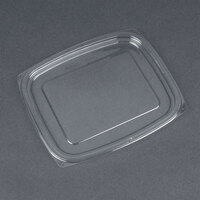 Dart Solo C32DLR ClearPac Clear Snap-On Flat Lid for 24 and 32 oz. Plastic Containers - 504 / Case