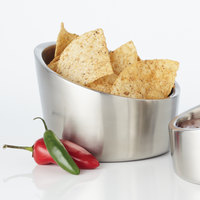 American Metalcraft DWAB6 18.5 oz. Double Wall Angle-Cut Insulated Stainless Steel Bowl
