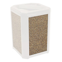 Rubbermaid 400300 River Rock Aggregate Panel for FG397000, FG397001, FG397088, FG397100, and FG397200 Landmark Series Classic Containers (FG400300ROCK)