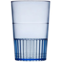 Fineline Quenchers 4115-BL 1.5 oz. Neon Blue Hard Plastic Shooter Glass 500 / Case