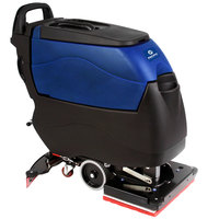 Pacific 855417 S-20 20 inch x 14 inch Walk Behind Orbital Auto Floor Scrubber with Transaxle Drive - 155AH Batteries with Charger, BatteryShield, and HydroLink
