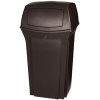 Rubbermaid FG843088 Ranger Brown Container With 2 Doors 35 Gallon (FG843088BRN)
