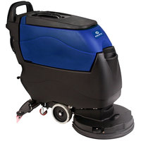 Pacific 855416 S-20 20 inch Walk Behind Auto Floor Scrubber with Transaxle Drive - 155AH Batteries with Charger, BatteryShield, and HydroLink