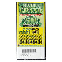 Half Grand 5 Window Pull Tab Tickets - 180 Tickets Per Deal - Total Payout: $675