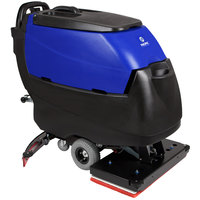 Pacific 875431 S-28 28 inch Walk Behind Orbital Auto Floor Scrubber with Transaxle Drive - 260AH Batteries with Charger, BatteryShield, and HydroLink
