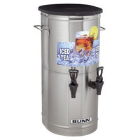 Bunn 37750.0002 TCD-2 Dual Head 2 Gallon Iced Tea Concentrate Dispenser
