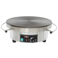 Krampouz CEBIF4 15 1/2 inch Round Electric Cast Iron Crepe Maker - 3750W, 240V