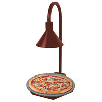 Hatco GRSSR20-DL77516 Glo-Ray 20 inch Copper and Gray Granite Heated Stone Shelf with Display Lamp - 120V, 650W