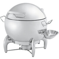 Vollrath T3633 11 qt. Round Stainless Steel Soup Chafer