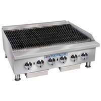 Bakers Pride BPHCB-2424i 24 inch Heavy Duty Radiant Charbroiler - 80,000 BTU