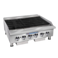 Bakers Pride BPHCB-2448i 48 inch Heavy Duty Radiant Charbroiler - 160,000 BTU