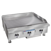 Bakers Pride BPHMG-2460i 60 inch Heavy Duty Manual Control Countertop Griddle - 200,000 BTU
