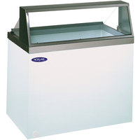 Nor-Lake HF100-WWG/0 Nova 48 inch Straight Glass Ice Cream Dipping Cabinet