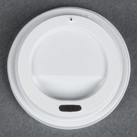 Choice 4 oz. White Hot Paper Cup Travel Lid - 1000/Case