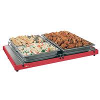 Hatco GRS-18-A 18 inch x 6 inch Glo-Ray Red Portable Heated Shelf Warmer - 100W
