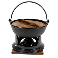 Town 25300 8 3/4 inch Cast Iron Pot