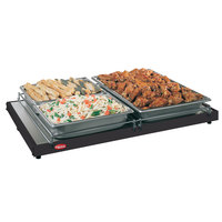 Hatco GRS-18-C 18 inch x 10 inch Glo-Ray Black Portable Heated Shelf Warmer - 125W