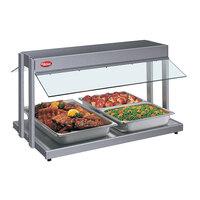 Hatco GRBW-30 30 inch Glo-Ray Gray Granite Buffet Warmer with Infinite Controls - 1230W