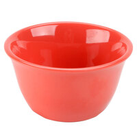 Smooth Melamine Orange Bouillon Cup - 7 oz. 12 / Pack