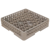 Vollrath TR13M Traex Rack Max Full-Size Beige 42-Compartment 2 1/16 inch Glass Rack