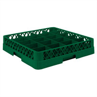 Vollrath TR5 Traex Full-Size Green 20-Compartment 3 inch Cup Rack