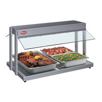 Hatco GRBW-30 30 inch Glo-Ray Gray Granite Buffet Warmer with Thermostatic Controls - 1230W