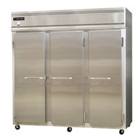Continental Refrigerator 3R-HD 78 inch Solid Half Door Reach-In Refrigerator
