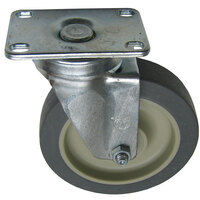 All Points 26-2374 5 inch Swivel Plate Caster - 300 lb. Capacity