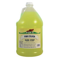 Fox's Pina Colada Slush Syrup - 1 Gallon Container