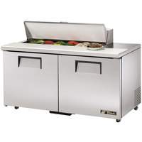 True TSSU-60-12-ADA 60 inch Two Door ADA Height Sandwich / Salad Prep Refrigerator