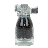 Chef Specialties 29931 4 1/2 inch Acrylic Spinner Pepper Mill