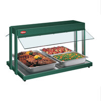 Hatco GRBW-24 24 inch Glo-Ray Green Buffet Warmer with Thermostatic Controls - 970W