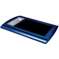 Hatco SRG-1 Navy Blue Serv-Rite Portable Heated Glass Buffet Warmer - 350W