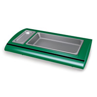 Hatco SRB-1 Hunter Green Serv-Rite Portable Pan Buffet Warmer - 500W