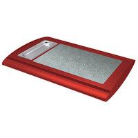 Hatco SRSS-1 Warm Red Serv-Rite Portable Heated Sawgrass Stone Buffet Warmer - 350W