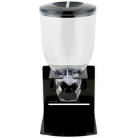 Zevro KCH-06152 Black Professional Single Canister Dry Food Dispenser