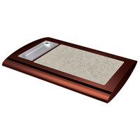 Hatco SRSS-1 Antique Copper Serv-Rite Portable Heated Bermuda Sand Stone Buffet Warmer - 350W