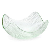 Tablecraft AB1111 Cristal Collection 10 3/4 inch Square Acrylic Bowl