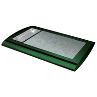Hatco SRSS-1 Hunter Green Serv-Rite Portable Heated Sawgrass Stone Buffet Warmer - 350W