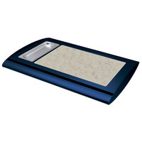 Hatco SRSS-1 Navy Blue Serv-Rite Portable Heated Bermuda Sand Stone Buffet Warmer - 350W