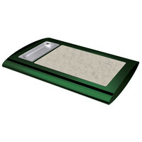 Hatco SRSS-1 Hunter Green Serv-Rite Portable Heated Bermuda Sand Stone Buffet Warmer - 350W