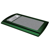 Hatco SRSS-1 Hunter Green Serv-Rite Portable Heated Gray Granite Stone Buffet Warmer - 350W